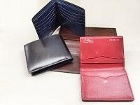 """財布や手帳、名刺入れなどの革小物を、一つひとつ大切に職人技で作り上げている""""OEM専門メーカー""""です。"""