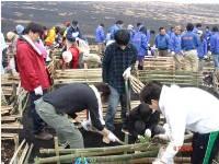 https://iishuusyoku.com/image/ボランティア活動も盛ん!画像は、富士山緑化活動に参加した際の写真になります。