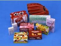 お菓子やティッシュの箱の「あけくち」にある、あのミシン目や切込み線をはじめ、段ボールの裁断など身の回りで必要とされる製品加工に欠かせない、特殊刃物専門商社です。