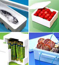 魚や青果の鮮度をしっかりキープ!デリケートな生鮮食品の鮮度保持の面から、物流に貢献する発泡スチロール容器メーカーです!
