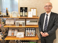 http://iishuusyoku.com/image/北海道江別の国産小麦「ハルユタカ」を使用した自社ブランドの素麺と讃岐うどんを紹介していただきました。