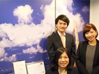 "https://iishuusyoku.com/image/営業の先輩。入社後の研修はOJT中心。先輩のアシスタント業務からスタートして、インターネット広告の""プロ""を目指そう!"
