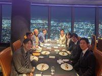 ビジネス界・教育界で知る人ぞ知る  知の泉 藤原和博さんの記念すべく  1500回講演達成のお祝い会