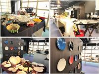 https://iishuusyoku.com/image/本社に併設するショールーム。ショールームの装飾は、社員同士でアイデアを出しながら行っています!