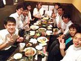 https://iishuusyoku.com/image/毎月行う懇親会!少人数でアットホームな社風があります。