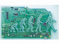 目覚しいスピードで進展する技術開発。T社は省力化機器・自動制御機器を主体に電子部品、半導体をエレクトロニクス分野へ提供しています。