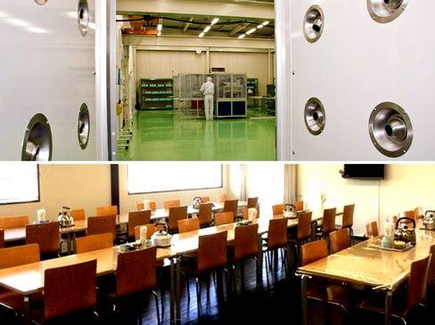 https://iishuusyoku.com/image/社内食堂でのランチはなんと無料!また、雲の上と同じレベルの清浄度を保つクリーンルーム設備があります。
