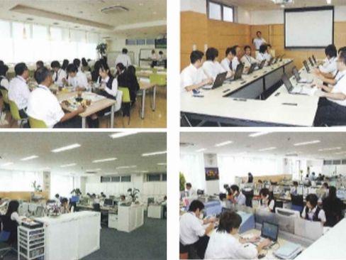 https://iishuusyoku.com/image/本社は食堂や大会議室があるなど充実の設備。綺麗で広いオフィスで仕事ができます♪