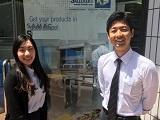 http://iishuusyoku.com/image/いい就職プラザを通じて入社し、現在活躍中の先輩社員が2名おります。未経験でも安心して成長できる環境です。