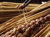 http://iishuusyoku.com/image/日々私たちが食品として摂取する納豆から、血液をサラサラにする成分を取り出します。
