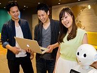 https://iishuusyoku.com/image/エントランスでは、Pepper君がお出迎え!リノベーション×人工知能アプリもリリース!リアルエステートテック分野でナンバーワンを目指します!