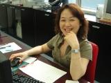https://iishuusyoku.com/image/営業部の社員さん。カメラを向けると笑顔で応えてくれました。