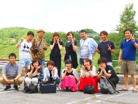 社員旅行の写真です。毎年社員旅行を実施しており、全社員が集まる機会が多々あります。また拠点関係なく仲がよく、アットホームな雰囲気です★