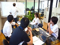 https://iishuusyoku.com/image/同社はチームワーク抜群!上流工程から携われる技術者としてやりがいや楽しさを味わうことが出来ます。