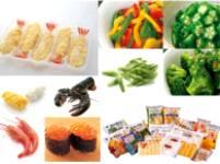 水産物、冷凍野菜やフルーツ、加工食品を展開!レストランやコンビニ、スーパーで、きっとあなたも食べたことがあるはず!