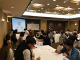 https://iishuusyoku.com/image/年3回各エリアで交流会を開催しています。また年に1回社員総会が開催され、社員全員が集まります。