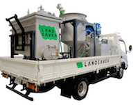https://iishuusyoku.com/image/原発事故の影響で汚染した土を、その場で除染処理可能な車載型除染装置を開発。これも世界初の技術なんです!