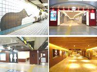 動物園前駅の壁や、梅田駅の「ekimo(エキモ)」、本町駅のトイレや、全国からたくさんの方が集まる新大阪駅の改造工事など、鉄道関係の建設工事を多数手がけています!