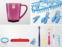 歯ブラシをはじめとするオーラルケア、キッチン、ランドリーなど日用品を総合的に扱っています!グッドデザイン賞も受賞しています♪