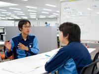 http://iishuusyoku.com/image/もしかすると世の中を大きく動かすかもしれない。 そんな大きな可能性を秘めた仕事に日々取り組んでいます。