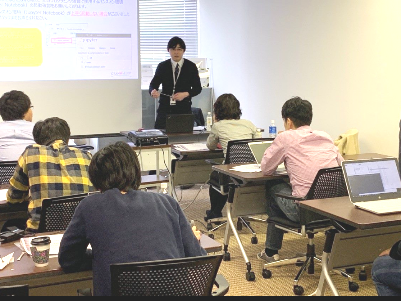 http://iishuusyoku.com/image/- See the Unseen- データを通じて、お客様の見えない「モノ」を可視化する。同社の主催するデータ活用セミナーの様子です。