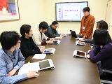 http://iishuusyoku.com/image/チームワークを大切にし、社員同士協力しながらプロジェクトを進めていきます。