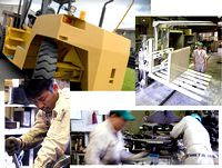 創立55年!フォークリフト部品メーカーとして小・中・大型のあらゆる部品に対応する技術力と生産設備を保有する同社。若手からベテランまで、いろいろな経歴・タイプの社員が活躍中です!