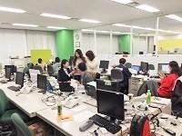 https://iishuusyoku.com/image/広くて綺麗なオフィスで50人のスタッフと働きます。