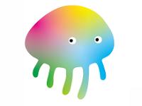 https://iishuusyoku.com/image/ITの管理スタイルの数だけ、変幻自在。それを表現した同社のキャラクター。クラゲではなくて異生物です!!!