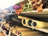 """https://iishuusyoku.com/image/牛革、馬革、豚革から鹿の革まで!多彩な""""革""""が並びます!まずは、革の裁断工程の生産管理業務からのスタートです!"""
