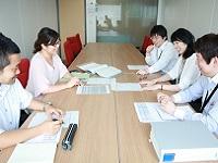 http://iishuusyoku.com/image/社員打ち合わせの場。風通しの良い職場が自慢の会社です。