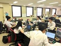 http://iishuusyoku.com/image/オフィスは横浜スタジアムからすぐ!アットホームな職場なので、きっとすぐに馴染んでいただけるはずです!