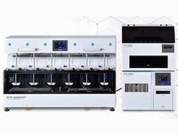 錠剤の溶け方を調べる「溶出試験器」のトップメーカー!溶出試験器を使って試験をしなければ薬の製造販売承認がおりないため、製薬メーカーにとってなくてはならない存在です。