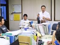 https://iishuusyoku.com/image/新製品が次々とリリースされる業界のため、製品知識を高めるために社内勉強会を随時開催しています!