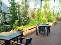 https://iishuusyoku.com/image/移転したばかりのオフィスの屋上には庭園があり、社員の憩いの場になっています!