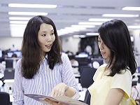 http://iishuusyoku.com/image/子育ても仕事も、妥協せず、全力で取り組む。働くママも元気に活躍中!女性が長く安心して活躍できる会社です。