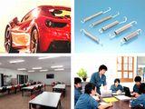 https://iishuusyoku.com/image/同社製品からつくられるばねの8割が自動車の主要部品として使われています。社内には食堂スペースがあり、みなさん仲良くランチをしています♪