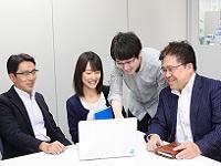 https://iishuusyoku.com/image/業務効率化を常に推進しています。常に業務効率化に向けて、社員一丸となって取り組んでいます。