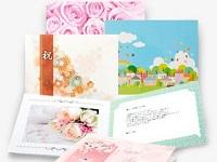 https://iishuusyoku.com/image/大切な人に「おめでとう」の気持ちを送る電報。大切に飾っておきたくなる、笑顔になるデザインです。