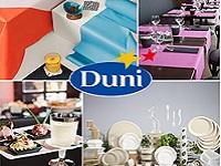 """1923年創業の、テーブルウェアの老舗メーカー!スウェーデン""""Duni(デュニ)""""社製品の日本総代理店としても活躍しています。"""