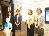 "https://iishuusyoku.com/image/愛嬌たっぷりのかわいいロボット""Pepper君""が楽しくお出迎えします!"