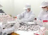 http://iishuusyoku.com/image/生産ラインは包材においても高い品質 を維持。一つひとつの仕上がりに責任を持ち安全チェックを行っています。
