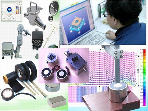 設立から50年以上の歴史を誇る磁石応用製品の専門メーカー!取引企業は1000社を超え、磁石の製作・販売を通して私たちの生活を支えています。