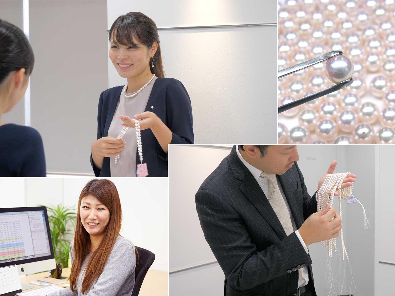 プロによる確かな経験と正しい知識で、お客様絶対に満足いただける真珠をご紹介しています!