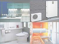 水や空気、ガスを供給する「管材」から、キッチン・バス・トイレで使用される「住宅設備機器」まで、何でも揃います!