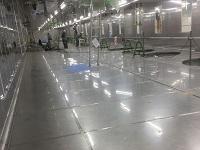 https://iishuusyoku.com/image/ステンレス床は洗浄性・抗菌性抜群。「HACCP」やISO22000認定工場での衛生管理に対応しています。
