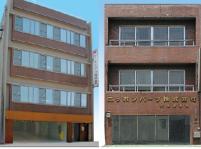 左は名古屋本社、右は大阪の営業所です。両オフィスとも市内中心部に位置し、最寄駅からも近いため通勤もラクラクです。