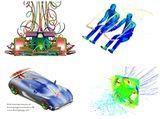 http://iishuusyoku.com/image/CAEの技術は、自動車や精密機器などの工業製品はもちろん、新エネルギー・環境対策・事故検証・人工心臓など、あらゆる分野で活かされています。