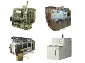 同社で制作した高度な自動化機能を組み込んだ洗浄装置製品の一例です。すべてオーダーメイドで製造しています。