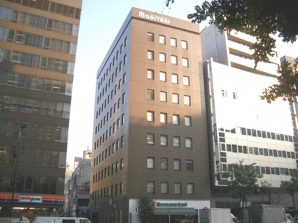 東京・八重洲の本社ビル。東京駅から徒歩5分のアクセス。